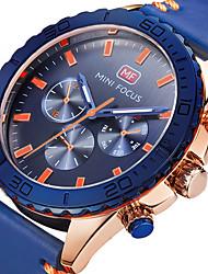 Муж. Спортивные часы Армейские часы Модные часы Наручные часы Уникальный творческий часы Повседневные часы Кварцевый Натуральная кожа