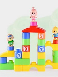 Blocs de Construction Pour cadeau Blocs de Construction Autres 3-6 ans Jouets
