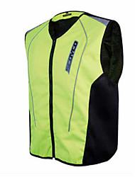 SCOYCO JK30-2 Motorcycle Reflective Vest Vest Riding Safety Clothing Fluorescent Racing Suit Four Seasons
