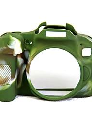 Dengpin мягкий силиконовый доспех кожа резиновый корпус камеры сумка для канона eos 800d (различные цвета)
