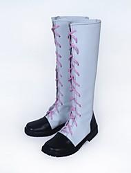 Обувь для косплэй Сапоги для косплея RWBY Косплей Аниме Обувь для косплэй Кожа Искусственная кожа/Полиуретановая кожа Полиуретановая кожа