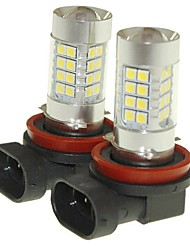 Sencart 2pcs h11 pgj19-2 lampe anti-brouillard lampe à phare lampes (blanc / rouge / bleu / blanc chaud) (dc / ac9-32v)