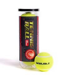 Win.max 3pcs / 1 set esportes ao ar livre esportivos amarelos bolas de tenis de alta elasticidade para treinamento de competição