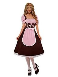 Costumes de Cosplay Tenus de Servante Princesse Fête d'Octobre/Bière Cosplay Serveur / Serveuse Fête / Célébration Déguisement d'Halloween