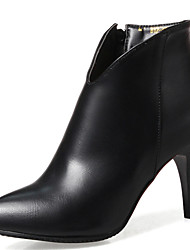 Women's Shoes Stiletto Heel Pointed Toe Ankle High Boot More Color Available