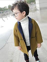 Мальчики Куртка / пальто Однотонный