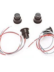 Rc - 36 проводной датчик окна / дверного геркона магнитный контакт сигнализация домашняя безопасность с тремя проводами 1шт