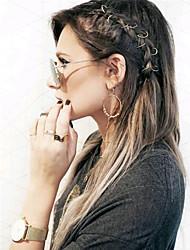 Lady Casul Hair Jewelry Hair braids accessories cornrow hairstyles braidig hair Braiding ring Wig Accessories Metal Wigs Hair Tools
