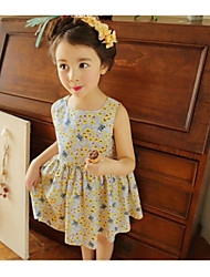 Girl's Floral Dress Summer