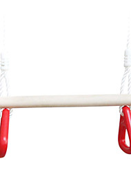 Children Indoor And Outdoor Sticks Red Handshake Rings Swing YD6313-0049