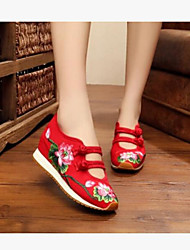 Women's Sneakers Comfort Denim Summer Casual Comfort Ruby Black Flat