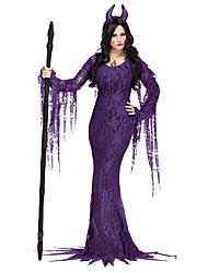 Costumes de Cosplay Bal Masqué Forme Chauve-Souris Vampire Cosplay Fête / Célébration Déguisement d'Halloween Autres Rétro Robes Coiffures