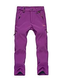 Mujer Resistente al Viento Listo para vestir Eslático Transpirabilidad Pantalones/Sobrepantalón para Caza Senderismo Escalada Camping