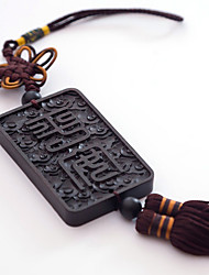 DIY Automotive Pendants   Chinese Style Chinese Knot Buddha Beads  Car Pendant & Ornaments   Woody