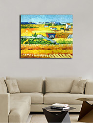 Hand-Painted Still Life Horizontal Panoramic,Classic One Panel Canvas Oil Painting For Home Decoration