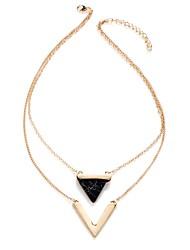 Women's Statement Necklaces Jewelry Star Geometric Triangle Shape Alloy Geometric Multi Layer Personalized Classic Jewelry ForBirthday