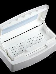 Pinpai Alcohol Sterilization Disinfection Box Clean Nail Tool Boxes Clean Nail Tools Dedicated Nail Art Kits Nail Art Manicure Tool