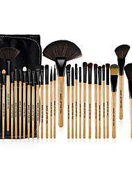 Make-up For You® 32pcs Makeup Brushes set  Limits bacteria/Professional Wood Blush/shadow/Concealer BrushMakeup KitCosmetic Brushes