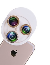 Le kit de lentilles 4 en 1 universel comprend un objectif grand angle lentille grand angle lentille cpl pour tablette et téléphones