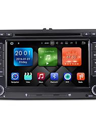 7 pouces octa core android 6.0.1 voiture lecteur dvd système multimédia wifi ex-3g ex-tv dab pour vw magotan 2007-2011 golf 5/6 caddy polo