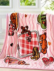Super Suave Animal Algodão cobertores