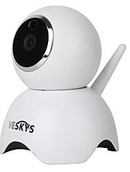 veskys® 960p смарт-панда wifi ip-камера (1.3mp hd / система видеонаблюдения cute panda model)