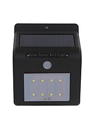 FYD-18001 Solar Sensor Light 8LED Light Control Human Body Sensor Lamp Garden Solar Wall Lamp