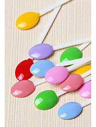 PINPAI Spoon Nail Color Card Sugar Stick Card Mini Nail Polish Glue Swatches 100 Pieces Nail Art Design