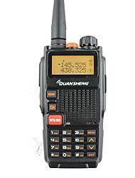 Quansheng tg-k4at (uv) double bande à deux voies radio5w 128ch fm portable à deux voies cb radio à jambes quansheng walkie talkie