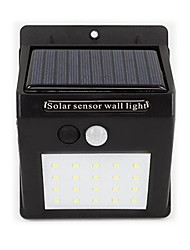 Home Solar Energy Sensor Lamp 20 Led Outdoor Waterproof Wall Lamp