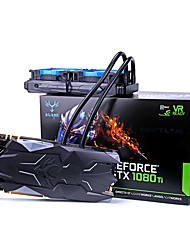 COLORFUL Placa gráfica de vídeo GTX1080Ti 1708MHz/11000MHz11GB/352 bits GDDR5