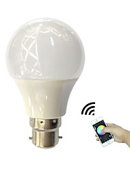 4.5W LED Smart Bulbs B22 RGB High Power LED &12SMD 2835 LED Warm White 350Lm Bluetooth APP Control AC110-240V 1Pcs