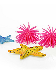 Aquário Decoração Coral Borracha