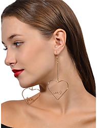 Femme Boucles d'oreille goutte Fleur Perle Rose Forme de Coeur Bijoux PourMariage Soirée Anniversaire Fiançailles Quotidien Cérémonie
