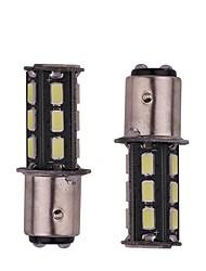 2pcs 5.5w blanc dc12v 1156 1157 bay15d 18led 5730smd led auto lampes clignotant de voiture haute qualité