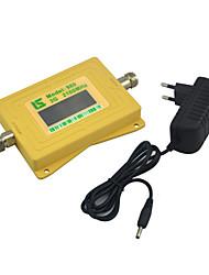 мини-интеллектуальный дисплей 3g мобильный телефон сигнал бустер umts w-cdma 2100mhz сигнал повторитель с источником питания желтый