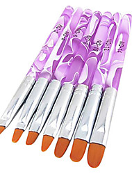 7 Pcs Manicure Set Phototherapy Nail Brush Pen Manicure Manicure Kit