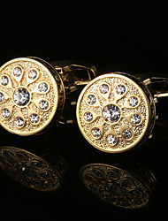 Jewelry French Shirt Cufflink for Mens Designer Brand Cuff links Buttons Gold High Quality Luxury Wedding Gifts Male Cuffs