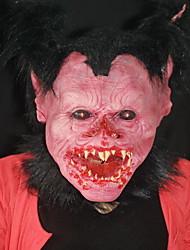 Halloween horror monster diabo máscara realista macaco faixa de homem salão de baile engraçado show cos
