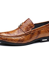 Men's Loafers & Slip-Ons Amir's Fashion Style Cowhide Leather Wedding Casual Party & Evening