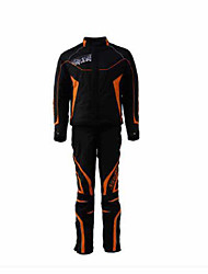 JXH  RJ002116RP002 Motorcycle Riding Suit Cool Wrestling Wear-Resistant Road Riding Jacket Pants