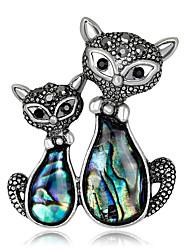 Women's Rhinestone Basic Fashion Vintage Personalized Luxury Simple Style Classic Elegant Crystal Imitation Diamond Alloy Geometric