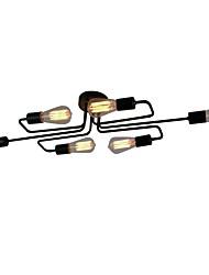 6 лампочка люстра современная картина для свечи стиль металлическая гостиная спальня столовая