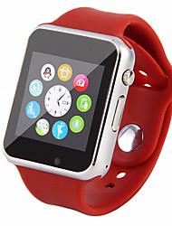 m3x smartwatch téléphone caméra mtk6261 1,54 pouces anti-perte enregistreur de sons d'alarme podomètre moniteur fm du sommeil