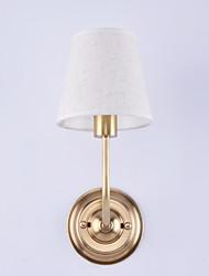 40 E12/E14 Tradicional/Clássico Bronze Com Banho de Óleo Característica for Estilo Mini,Luz de Cima Luz de parede