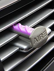 carro de saída de ar grilo perfume violeta flores de citrinos vagamente baunilha linho fresco 4 apenas instalado automotriz purificador de