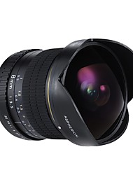 andoer 8 мм f / 3.5 170 ультраширокий широкоугольный объектив для оптических дисков fisheye для nikon d7100 d7200 d7000 d300 d300s d5500