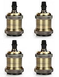 4 Stück e26 / e27 Sockel Schraube Glühbirnen edison minimalistischen Retro Vintage Pendelleuchte ohne Kabel und Schalter