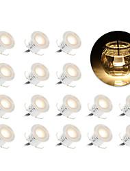ywxlight® 16pcs 15w eu plug uk plug us plug высокая яркая утопленная светодиодная панель светлая водонепроницаемость ip67 в грунте