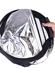 andoer 30 / 76cm portable portable triangle pliable 5in1 multi réflecteur avec or / ruban / blanc / noir / couleurs translucides pour